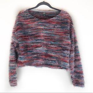 Wild Fable fuzzy eyelash sweater!